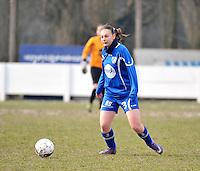 AA Gent Ladies - Lommel : Lien De Wispelaere<br /> foto DAVID CATRY / Nikonpro.be