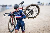 David Menut (FRA)<br /> <br /> UCI 2021 Cyclocross World Championships - Ostend, Belgium<br /> <br /> Elite Men's Race<br /> <br /> ©kramon