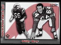 Billy Roy-JOGO Alumni cards-photo: Scott Grant