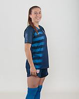 Carson, CA -  May 09 & 10, 2018: USWNT U-20 Portraits new Blue & White uniforms.