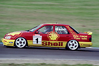 Round 10 of the 1991 British Touring Car Championship. #1 Robb Gravett (GBR). Trakstar Motorsport. Ford Sierra Sapphire.