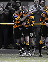30/04/2008   Copyright Pic: James Stewart.File Name : sct_jspa10_alloa_v_clyde.ADAM COAKLEY CELEBRATES SCORING ALLOA'S SECOND..James Stewart Photo Agency 19 Carronlea Drive, Falkirk. FK2 8DN      Vat Reg No. 607 6932 25.Studio      : +44 (0)1324 611191 .Mobile      : +44 (0)7721 416997.E-mail  :  jim@jspa.co.uk.If you require further information then contact Jim Stewart on any of the numbers above........