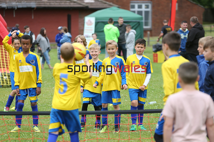 McDonalds Community Football.<br /> Trallwn Playing Fields<br /> Swansea<br /> 24.06.17<br /> ©Steve Pope - Sportingwales