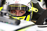 03 Apr 2009, Kuala Lumpur, Malaysia ---     Brawn GP Formula One Team driver Jenson Button of Great Britain in the first practice session during the 2009 Fia Formula One Malasyan Grand Prix at the Sepang circuit near Kuala Lumpur. Photo by Victor Fraile --- Image by © Victor Fraile / The Power of Sport Images