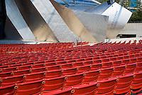 The Jay Pritzker Pavilion in Millennium Park; Chicago, IL