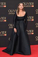 Antonia Thomas<br /> arriving for the Olivier Awards 2019 at the Royal Albert Hall, London<br /> <br /> ©Ash Knotek  D3492  07/04/2019