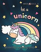 Dreams, CHILDREN, KINDER, NIÑOS, paintings+++++,MEDAKID12/4,#K#, EVERYDAY ,unicorn,unicorns