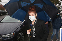 Jenkintown, PA -  OCTOBER 16 :  Award-winning actress Debra Messing pictured joining Ballots for Biden event in Montgomery County, Pa. October 16, 2020  <br /> CAP/MPI09<br /> ©MPI09/Capital Pictures
