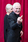 © Licensed to London News Pictures . 16/05/2015 .  The Palace Hotel , Manchester , UK . Chris Chittell (r) and Lesley Dunlop  . The red carpet at the 2015 British Soap Awards , The Palace Hotel , Oxford Road , Manchester . Photo credit : Joel Goodman/LNP
