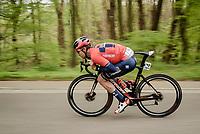 Speeding Heinrich HAUSSLER (AUS/Bahrain-Merida)<br /> <br /> 59th De Brabantse Pijl - La Flèche Brabançonne 2019 (1.HC)<br /> One day race from Leuven to Overijse (BEL/196km)<br /> <br /> ©kramon