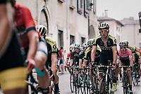 Roman Kreuziger (CZE/Mitchelton Scott) during the local lap in Iseo<br /> <br /> stage 17: Riva del Garda - Iseo (155 km)<br /> 101th Giro d'Italia 2018