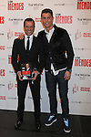 Real Madrid´s Cristiano Ronaldo (R) and Jorge Mendes attend Jorge Mendes´s book presentation in Madrid, Spain. January 22, 2015. (ALTERPHOTOS/Victor Blanco)