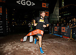 Winner of the Bloomberg Square Mile Relay race across the Dubai International Financial Centre on 07 February 2018 in Dubai, United Arab Emirates. Photo by Ian Walton / Power Sport Images