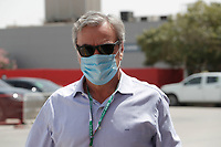 26th March 2021; Sakhir, Bahrain; F1 Grand Prix of Bahrain, Free Practice sessions;  SAINZ Carlos (spa), father of present driver,  during Formula 1 Gulf Air Bahrain Grand Prix