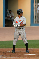 August 18, 2005:  Ramon Nivar of the Bowie BaySox during a game at Metro Bank Park in Harrisburg, PA.  Bowie is the Eastern League Double-A affiliate of the Baltimore Orioles.  Photo by:  Mike Janes/Four Seam Images