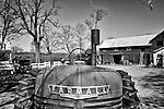 An Antique Farmall Tractor