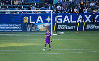 CARSON, CA - FEBRUARY 15: David Bingham #1 of the Los Angeles Galaxy during a game between Toronto FC and Los Angeles Galaxy at Dignity Health Sports Park on February 15, 2020 in Carson, California.