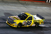 NASCAR Camping World Truck Series<br /> UNOH 200<br /> Bristol Motor Speedway, Bristol, TN USA<br /> Wednesday 16 August 2017<br /> Grant Enfinger, Champion Power Equipment\ Curb Records Toyota Tundra<br /> World Copyright: Russell LaBounty<br /> LAT Images