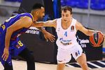 EUROLEAGUE 2020-2021. Playoffs.Game 1.<br /> FC Barcelona vs Zenit St. Petersburg: 74-76.<br /> Adam Hanga vs Kevin Pangos.
