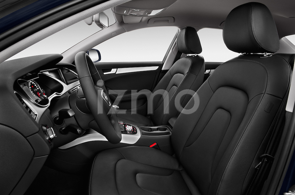 Front seat view of a 2014 Audi A4 AMBITION LUXE 4 Door Sedan 2WD