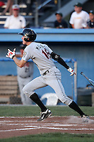Tri-City ValleyCats outfielder Drew Muren #18 during a game against the Batavia Muckdogs at Dwyer Stadium on July 14, 2011 in Batavia, New York.  Batavia defeated Tri-City 6-3.  (Mike Janes/Four Seam Images)