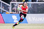 Yan Li of China runs in a try  during the Asia Rugby U20 Sevens 2017 at King's Park Sports Ground on August 5, 2017 in Hong Kong, China. Photo by Yu Chun Christopher Wong / Power Sport Images