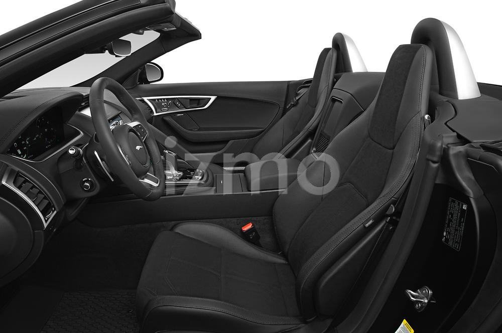 Front seat view of 2021 Jaguar F-Type - 2 Door Convertible Front Seat  car photos
