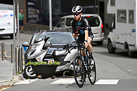 July 12th 2021, Andorre-la-Vielle, France; DSM rider during rest day 2 of the 108th edition of the 2021 Tour de France cycling race on July 12