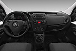 Stock photo of straight dashboard view of a 2017 Citroen Nemo Business 4 Door Car van
