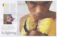 China Fight Club. Post Magazine  © Sinopix
