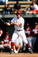 Beau Craig of the USC Trojans during a NCAA baseball game at Dedeaux Field circa 1999 in Los Angeles, California. (Larry Goren/Four Seam Images)