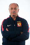 Head Coach of Guangzhou Evergrande Luis Felipe Scolari poses during the portrait session prior to Gamba Osaka vs Guangzhou Evergrande during the 2015 AFC Champions League Semi Final 2nd Leg on October 20, 2015 at the Expo'70 Stadium in Osaka, Japan. Photo by Aitor Alcalde / World Sport Group