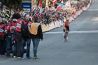 Chantal Blaak (NED/Boels-Dolmans) is the new Elite Women Road World Champion<br /> <br /> Women Elite Road Race<br /> <br /> UCI 2017 Road World Championships - Bergen/Norway