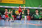 14Maximilian Janke beim Spiel in der Handball Bundesliga, TSV GWD Minden - HSG Nordhorn-Lingen.<br /> <br /> Foto © PIX-Sportfotos *** Foto ist honorarpflichtig! *** Auf Anfrage in hoeherer Qualitaet/Aufloesung. Belegexemplar erbeten. Veroeffentlichung ausschliesslich fuer journalistisch-publizistische Zwecke. For editorial use only.