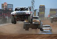 Mar. 19, 2011; Chandler, AZ, USA;  LOORRS pro two driver Carl Renezeder during round one at Firebird International Raceway. Mandatory Credit: Mark J. Rebilas-US PRESSWIRE