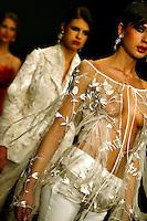 Roma 26/1/2004 <br /> Alta Moda Roma - Haute Couture - Fashion<br /> Dress collection of stylist Gianni Calignano.<br /> Foto Andrea Staccioli Insidefoto