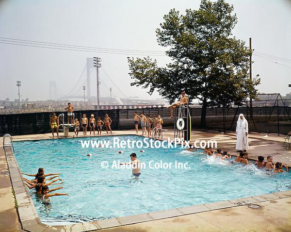 Saint John Villa Academy, New York, Swim Lessons with the Nun