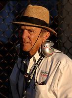 Nov 12, 2005; Phoenix, Ariz, USA;  Nascar Busch Series and Nextel Cup car owner Jack Roush during the Arizona 200 at Phoenix International Raceway. Mandatory Credit: Photo By Mark J. Rebilas