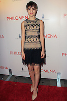 """NEW YORK, NY - NOVEMBER 12: Sami Gayle at the New York Premiere Of The Weinstein Company's """"Philomena"""" held at Paris Theater on November 12, 2013 in New York City. (Photo by Jeffery Duran/Celebrity Monitor)"""