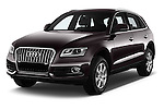 2016 Audi Q5 5 Door Suv Angular Front stock photos of front three quarter view