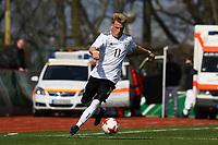 Robin Hack (Deutschland, TSG 1899 Hoffenheim) - 25.03.2017: U19 Deutschland vs. Serbien, Sportpark Kelsterbach