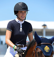 MIAMI BEACH, FL - APRIL 19: Jessica Rae Springsteen at the Longines Global Champions Tour stop in Miami Beach. Singer Bruce Springsteen's daughter Jessica Rae Springsteen and fellow riders Former Mayor of New York Michael Bloomberg's daughter Georgina Bloomberg as well as Bill Gates daughter Jennifer Gates were all in attendance on April 19, 2019 in Miami Beach, Florida<br /> <br /> <br /> People:  Jessica Rae Springsteen