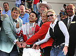 7 February 2009:  Fox Hill Farm is on the Derby Trail again after Friesan Fire won the Risen Star Stakes at the Fair Grounds Race Course in New Orleans, Louisiana.