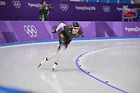 OLYMPIC GAMES: PYEONGCHANG: 15-02-2018, Gangneung Oval, Long Track, 10.000m Men, Patrick Beckert (GER), ©photo Martin de Jong