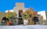 Rob. W. Quigley: Linda Vista Library. South East--Street Facade & Entrance. Photo '97.