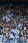 Motherwell v St Johnstone.....16.04.11  Scottish Cup Semi-Final.Saints fans.Picture by Graeme Hart..Copyright Perthshire Picture Agency.Tel: 01738 623350  Mobile: 07990 594431
