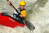 Experienced whitewater kayakers take on high-thrill adventures at the US National Whitewater Center in Charlotte, NC. USNWC offers II-IV rapids on its artificial whitewater river, which is also an official Olympic Training Site for whitewater slalom racing....