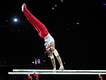 European Championships Glasgow 12th August 2018. Individual Apparatus Finals .FRASER Joe GBR.
