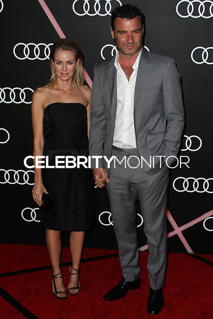 LOS ANGELES, CA - JANUARY 09: Naomi Watts, Liev Schreiber at the Audi Golden Globe Awards 2014 Cocktail Party held at Cecconi's Restaurant on January 9, 2014 in Los Angeles, California. (Photo by Xavier Collin/Celebrity Monitor)