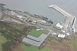 Aerial images of clogherhead and the Pier in Clogherhead.Photo: Fran Caffrey/ Newsfile.